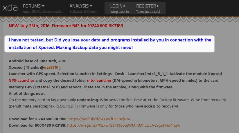 RK3188用Android5.1.1版、'16/07/25版 新カスタムROM3が登場したようです Pumpkin Android 10.1インチ DVD