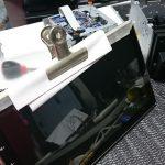 【Autopumpkin】剥がれて浮いてきたタッチパネルを補修する(^_^;