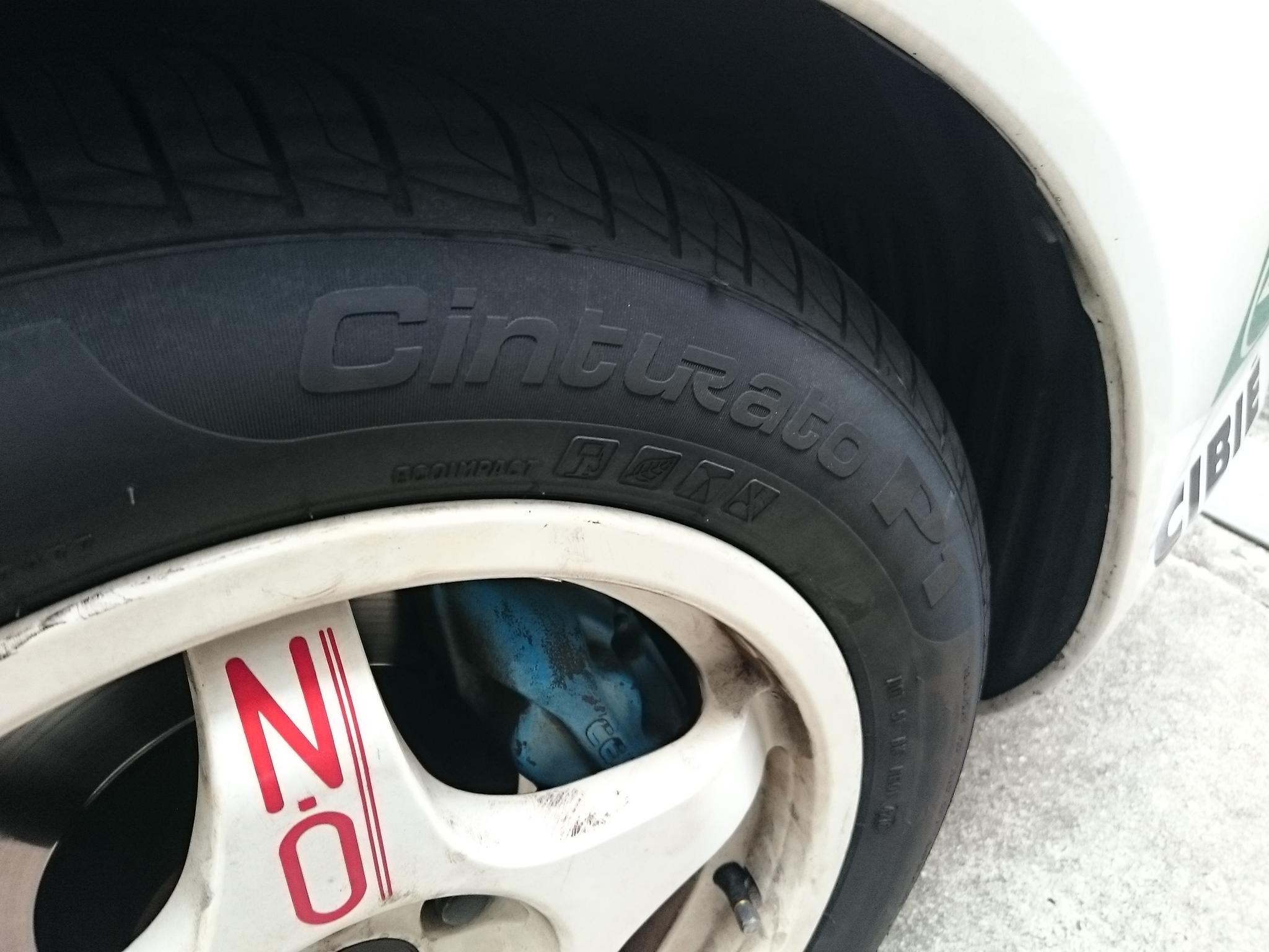 【Cinturato P1】車検が近づいてきたのでタイヤ交換【PIRELLI】