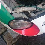 【Oo_oO】ヘッドライト周りのゴムを引っかけて外してしまったので補修【Oo_oO】