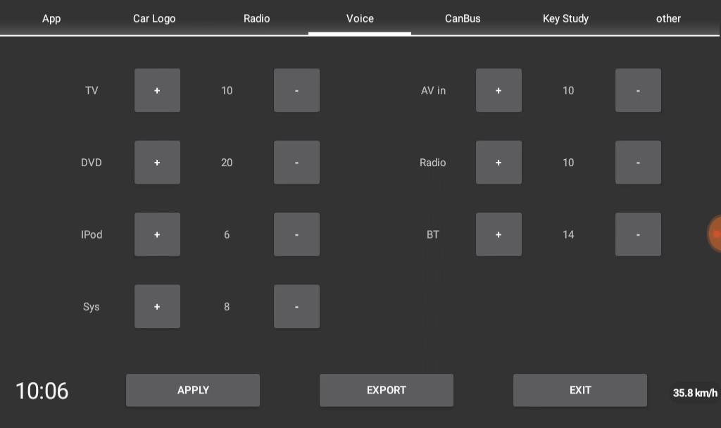 【TB103AP】工場設定(Factory Settings)をちょっと追う(その2)|中華Android2DIN車載ナビ【XTRONS】